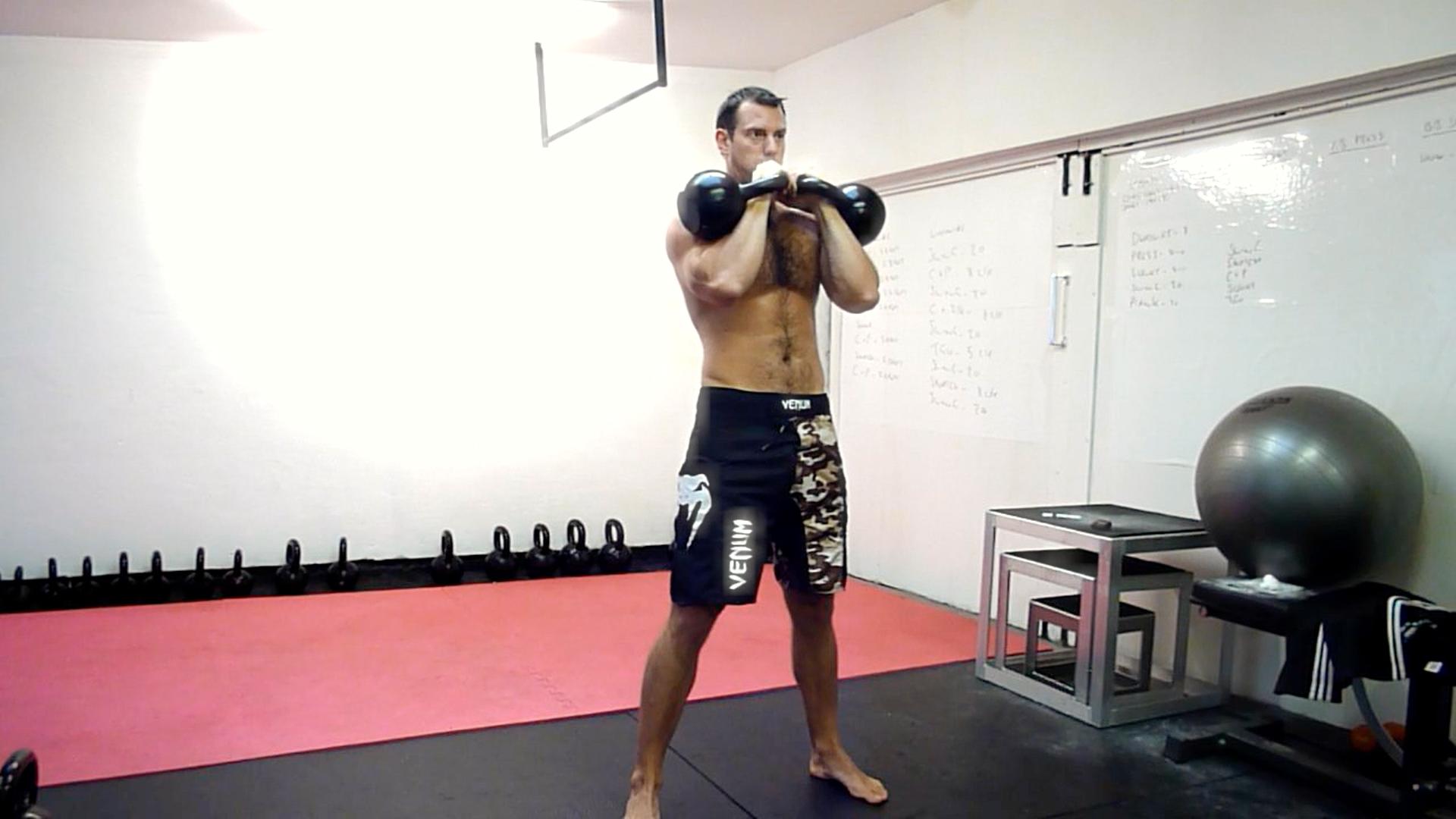 Kettlebell muscle program