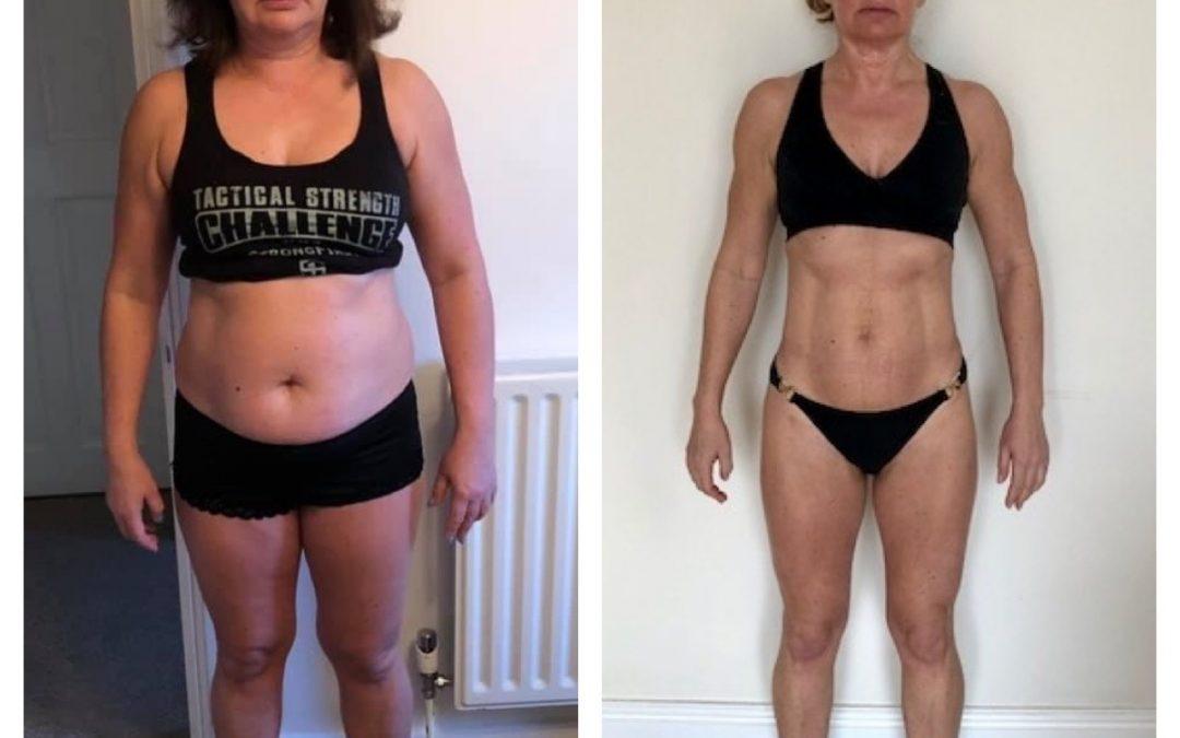 1 year transformation – Glynis Moss